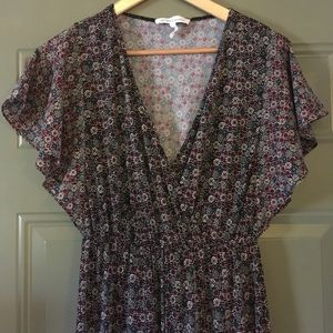 BCGB Patterned Jumpsuit XXS